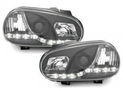 DAYLINE headlights VW Golf IV 97-04 _ drl-optic _ black