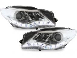 DAYLINE headlights VW Passat CC 08-12 drl optic chrome