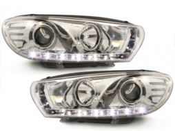DAYLINE headlights VW Scirocco lll 08+ _ drl-optic _ chrome