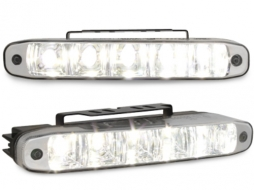 daytime running lights 5 hipower LED LxHxT 160x26x48mm - LGX07