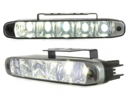 daytime running lights 5 hipower LED LxHxT 160x26x48mm - LGX07B