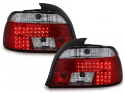 DECTANE LED Taillights suitable for BMW 5 Series E39 1995-2003 Red/Crystal Clear - RB19LRC/1223195
