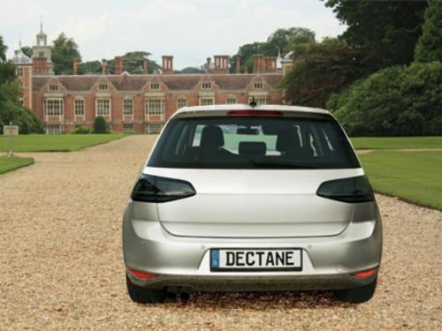 dectane led taillights vw golf vii gti look black smoke. Black Bedroom Furniture Sets. Home Design Ideas