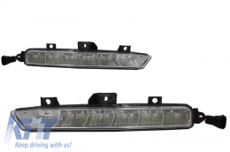 Dedicated Daytime Running Lights suitable for MERCEDES E-Class W212 (2009-2013) A-Design - DRLMBW212AMG