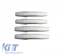 Door Handle  Land Rover Range Rover Sport L494 (2012-up) Evoque (2011-up) Vogue L405  (2012-up) White/Silver SV Autobiography Design