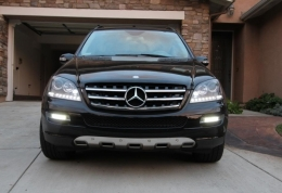 DRL with Grills NSSC For Mercedes Ml W164 2005-2009 - GZ3-037
