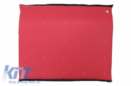 Entry Door Mat RED Entrance for Disinfection Waterproof fabric Washable 90 degrees - MATRALRED