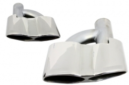 Exhaust muffler tips for Mercedes Benz S-class W221 AMG S65 S63 - TY-S65