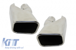 Exhaust muffler tips for Range Rover Sport (05-up) L320 Autobiography Design for Diesel  - TY-D004
