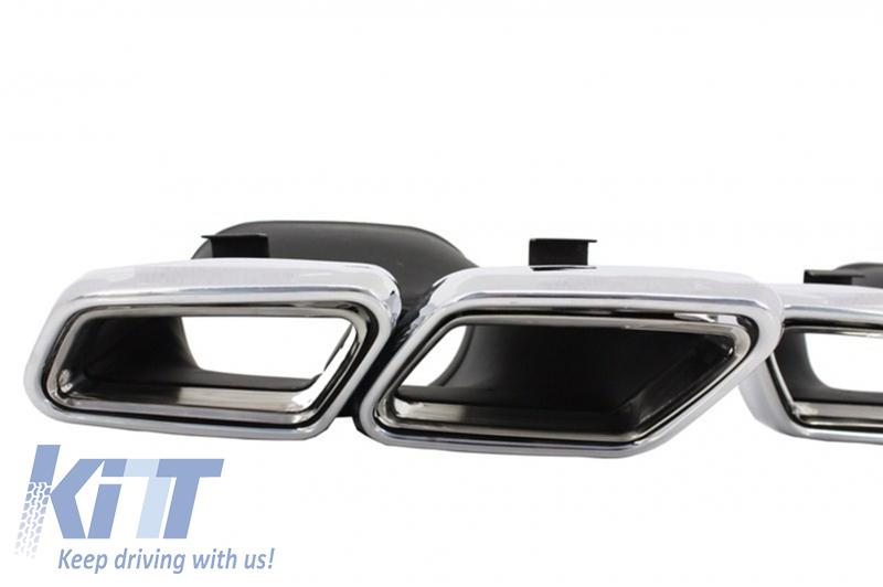 Exhaust muffler tips mercedes benz s class w222 c217 e for Mercedes benz performance exhaust
