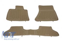 Floor mat Beige BMW X5 E70 2006-2013, X6 E71 2008-2014 - 200709B