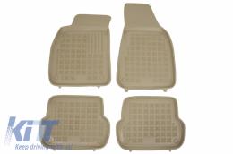 Floor mat Beige fits to AUDI A4 (B6, B7) 11/2000-10/2007 - 200301B
