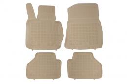 Floor mat beige fits to BMW X3 (F25) II 2010-, BMW X4 F26 2014+ - 200714B