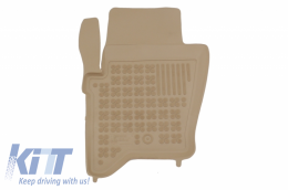 Floor mat Beige fits to  suitable for Land ROVER  Discovery III/IV 2004- - 202902B