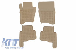 Floor mat Beige fits to suitable for Land ROVER Discovery III/IV (2004-2016) - 202902B