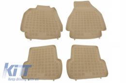 Floor mat Beige Renault Megane 2 2002-2009 - 201901B