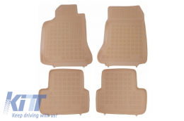 Floor Mat Beige Rubber suitable for MERCEDES A Classe W176 (2012-2018) GLA X156 (2013-) - 201718B