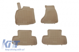 Floor mat Beige suitable for AUDI Q5 (8R) 2008- - 200306B