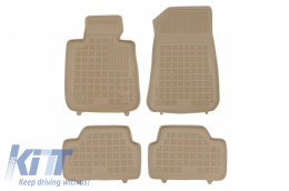 Floor mat Beige suitable for BMW Series 1 E87 2004-2011, suitable for BMW Series 1 F20 2011- - 200710B