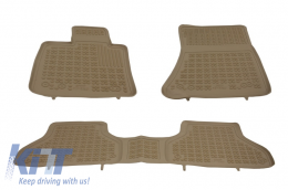 Floor mat Beige suitable for BMW X5 E70 2006-2013, X6 E71 2008-2014 - 200709B