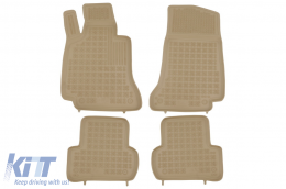 Floor mat Beige suitable for MERCEDES suitable for MERCEDES C-class W205 2014 - - 201720B