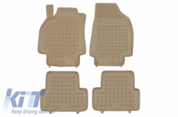 Floor mat Beige suitable for RENAULT Fluence (2009-2016) - 201910B