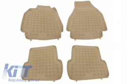 Floor mat Beige suitable for RENAULT Megane 2 2002-2009 - 201901B