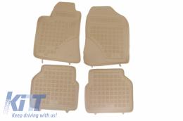 Floor mat Beige Toyota Avensis 2003 - 2009 - 201404B