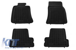 Floor mat Black BMW suitable for MINI One Cooper I II 2001 - 2013