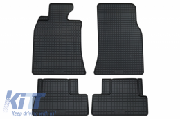 Floor mat Black BMW suitable for MINI One Cooper II (2006-2013) - 16810