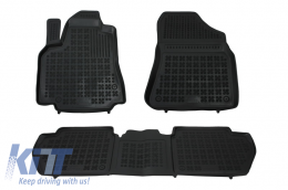 Floor mat black CITROEN Berlingo; suitable for PEUGEOT Partner 2008- - 201212