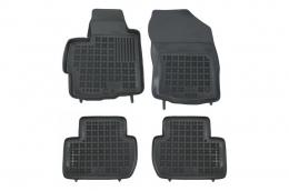 Floor mat black CITROEN C-Crosser 2007-; MITSUBISHI Outlander II 2005-; suitable for PEUGEOT 4007 2008- - 202303