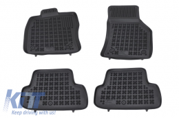 Floor mat black fits to AUDI A3 Hatchback 2012-