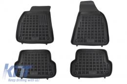 Floor mat black fits to/ AUDI A4 11/2000-10/2007