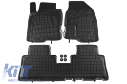 Floor mat black fits to CHEVROLET Captiva; suitable for OPEL Antara 2006-  - 200511