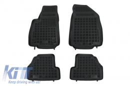 Floor mat black fits to CHEVROLET Trax 2013-; suitable for OPEL Mokka 2012-  - 200519