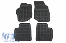 Floor mat black fits to CITROEN C-Elysee (2013+) suitable for PEUGEOT 301 (2012+) - 201226
