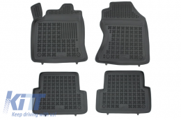 Floor mat black fits to/ FORD Focus I 1998-2005