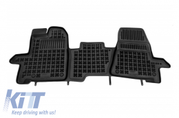 Floor mat black fits to/ FORD Transit Custom 2013-  - 200623