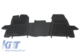 Floor mat black fits to FORD Transit, Transit Custom 2012-  - 200617