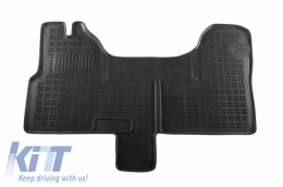Floor mat black fits to Iveco DAILY (2006 -up) - 203802