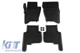 Floor mat black fits to LAND ROVER Discovery III/IV 2004-