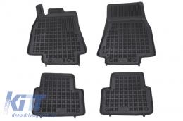 Floor mat black fits to/ MERCEDES W169 A-Class 2004-2012