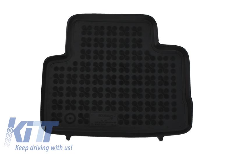 Floor Mat Black Fits To Nissan Qashqai Ii 2014