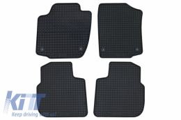 Floor mat black fits to SEAT Toledo (2013-2018) suitable for SKODA Rapid (2012-) Rapid Spaceback - 20910