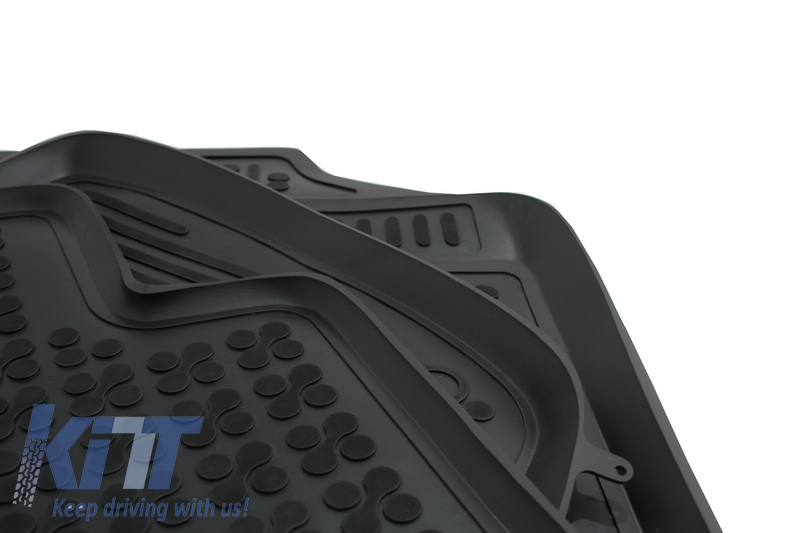 Floor Mat Black Fits To Seat Toledo 2013 Suitable For