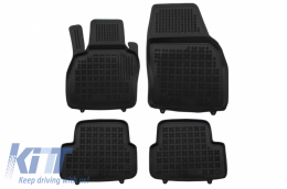 Floor mat black fits to suitable for Audi A1 II GB 2018 - - 200324