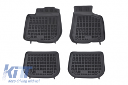 Floor mat black fits to suitable for AUDI A3 I 1996-2006  - 200305