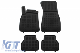 Floor mat black fits to suitable for Audi A6 V C8 2018 - - 200323