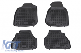 Floor mat black fits to suitable for AUDI A6 (4B/C5) (1997-2005) - 200304
